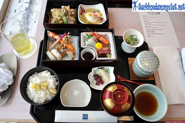 Chế độ ăn uống của người Nhật rất khoa học