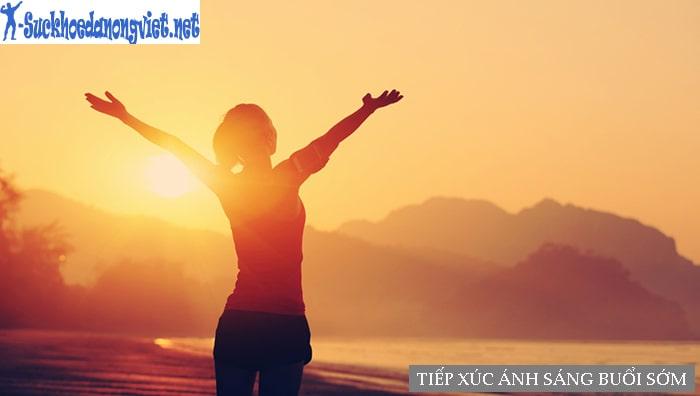 Tiếp xúc ánh sáng buổi sớm giúp cơ thể khỏe mạnh hơn