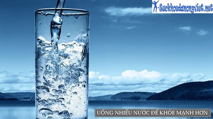 Uống nhiều nước vào buổi sáng giúp cơ thể khỏe mạnh
