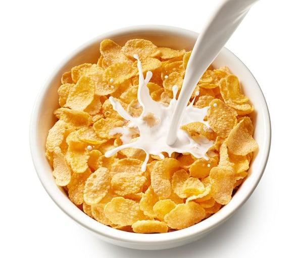 Ngũ cốc và sữa món ăn nhẹ ít calo và cực kỳ bổ dưỡng cho người muốn giảm cân