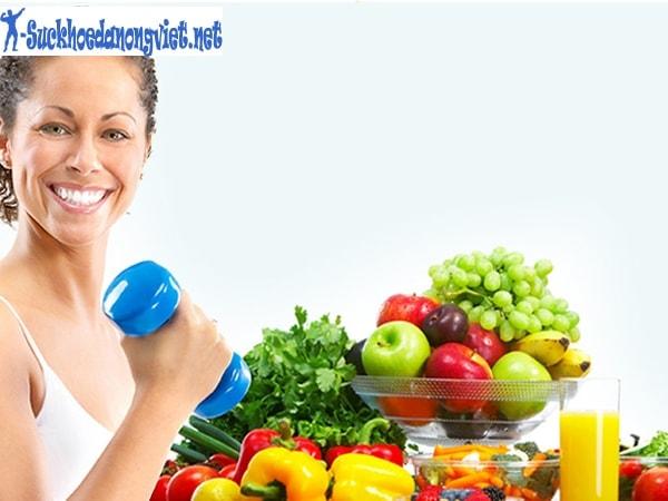 Chế độ dinh dưỡng cho người tập gym