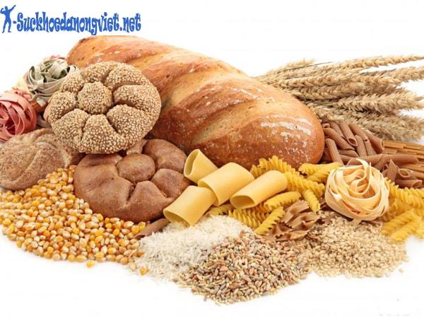 Bánh mì, đường là loại thức ăn giúp tăng cân nhanh.