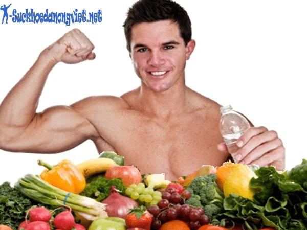 Chế độ ăn uống cho người tập gym