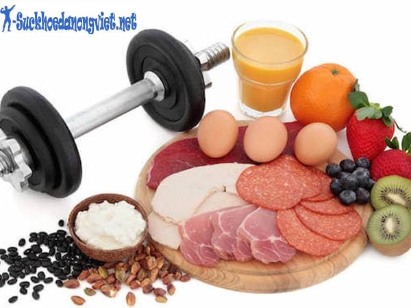 Chế độ dinh dưỡng rất quan trọng, đặc biệt với những người mới tập thể hình