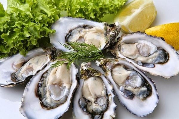 Hàu – loại hải sản tăng cường chất lượng tinh trùng nam giới