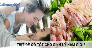 Thịt dê tốt cho sinh lý nam giới