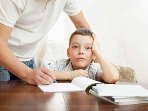 Không áp dụng đúng phương pháp học thì dễ gây cho con chán nản
