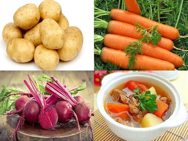 cách nấu canh khoai tây 2