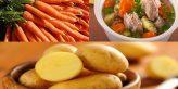 cách nấu canh khoai tây cà rốt