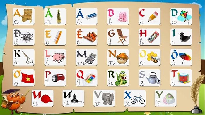 Dạy chữ cái, số khi trẻ 4 tuổi