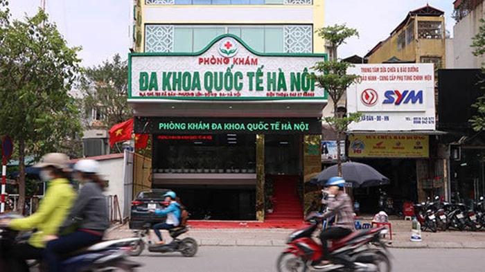 Phòng khám đa khoa quốc tế Hà Nội uy tín, chuyên nghiệp