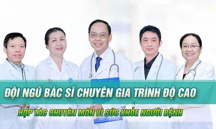 Đội ngũ y bác sĩ giàu kinh nghiệm, nhiệt huyết và tận tình