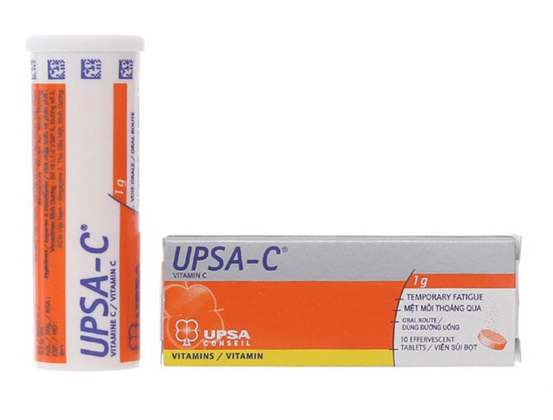 Hình ảnh minh hoạ sản phẩm viên sủi UPSA-C-Calcium