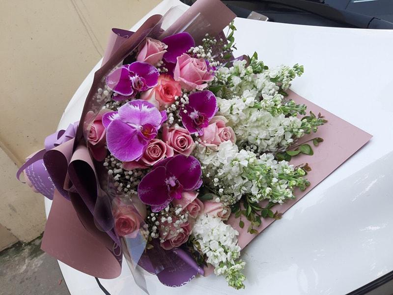 Hoa lan hồ điệp là loại hoa rất ý nghĩa chúc mừng ngày doanh nhân