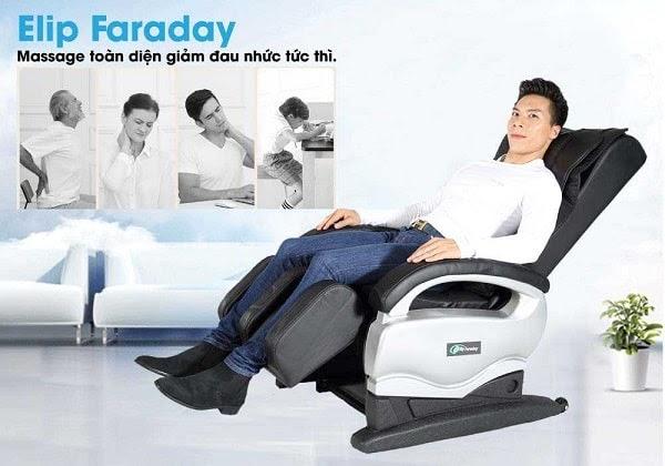 Ghế matxa Elip Faraday