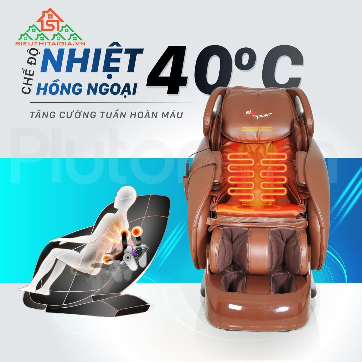 Massage nhiệt hồng ngoại